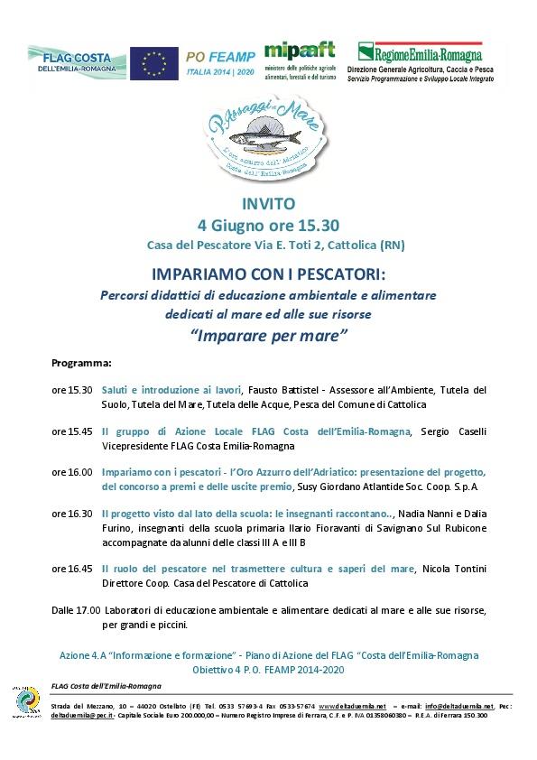 """""""L'Oro azzurro dell'Adriatico: Imparare per mare"""""""