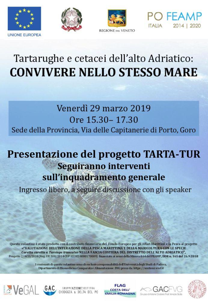 TARTA-TUR: Presentazione a Goro venerdì 29 marzo